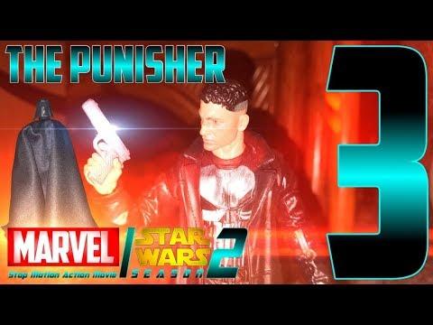 "Download MARVEL/Star Wars Stop Motion Action Movie - Season 2: Episode 3 ""The Punisher"""