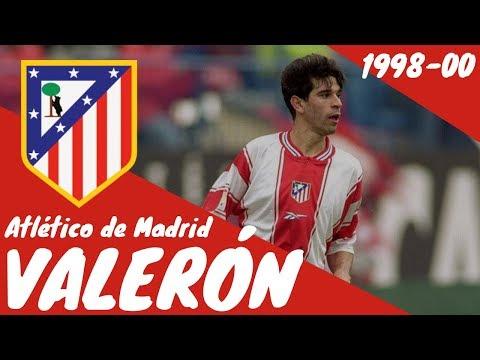 Juan Carlos Valerón En El Atlético De Madrid. Años 1998-2000
