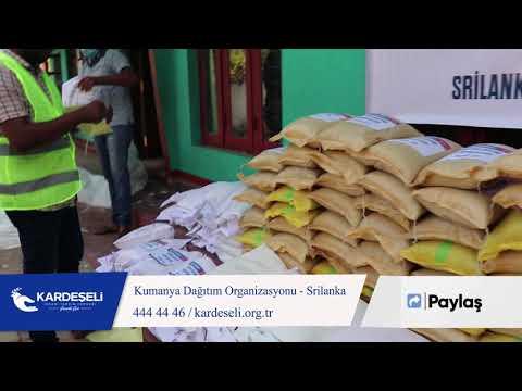 Srilanka' da Kumanya Dağıtımı Organizasyonumuz Devam Ediyor!