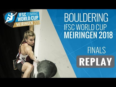 IFSC Climbing World Cup Meiringen 2018 - Bouldering - Finals - Men/Women
