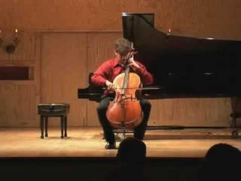 Crumb Solo Sonata 1st Mv.