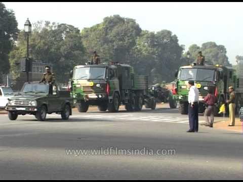 Display of MBT Arjun Tank on Republic Day