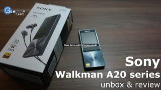 แกะกล่องรีวิว Sony Walkman A-20 series (Hi-Res Audio)