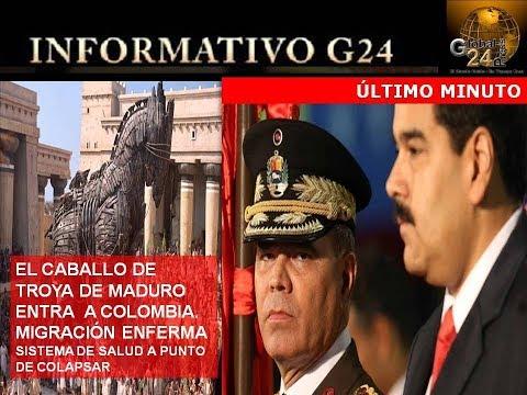 EL CABALLO DE TROYA DE MADURO EN COLOMBIA DESATA EMERGENCIA DE SALUD PÚBLICA ULTIMO MINUTO
