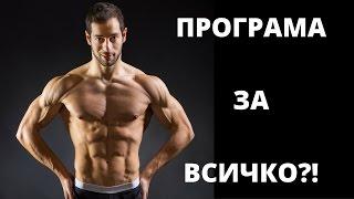 Програма за мускулна маса, сила и релеф в ЕДНО!