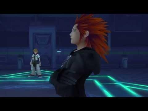 Roxas Vs. Axel (Final Battle) Kingdom Hearts II Final Mix 【HD 2.5 ReMIX】日本語 Japanese