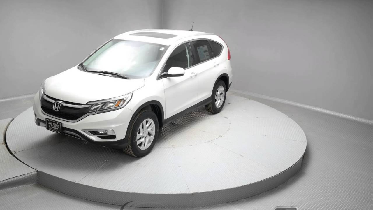 2016 white diamond pearl honda cr v suv g151 youtube for Honda crv 2016 white