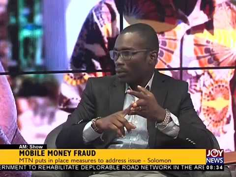 Mobile Money Fraud - AM Show on JoyNews (26-9-17)