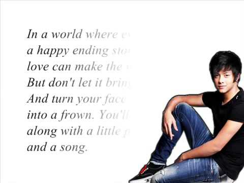 With A Smile by Daniel Padilla  3rd Album