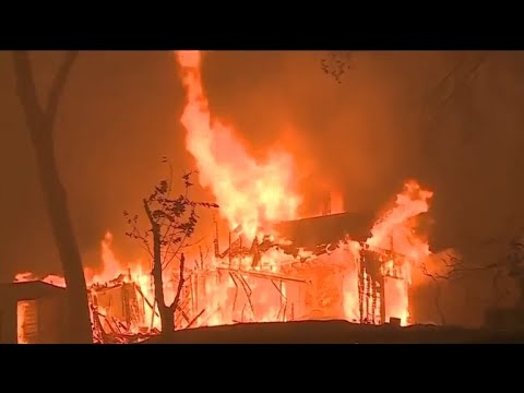 Heavy rain may complicate search for victims in Northern California's Camp Fire