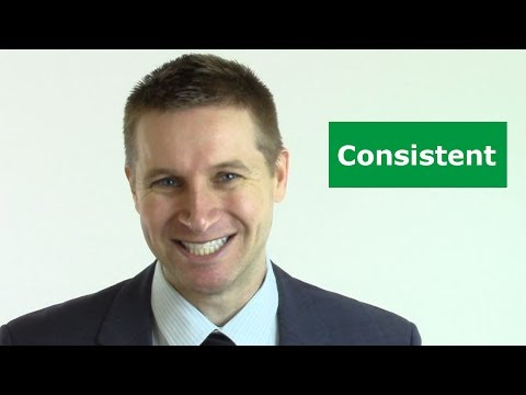 The MOST important business quality (Consistency)