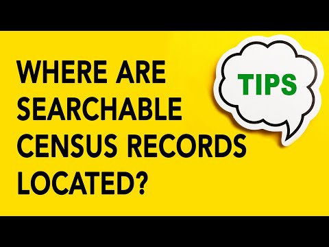 Genealogy Gold Tip #22 | Where are Searchable Census Records Located?