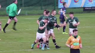 Irish Rugby TV: Ireland Students 31 Scottish Students 03
