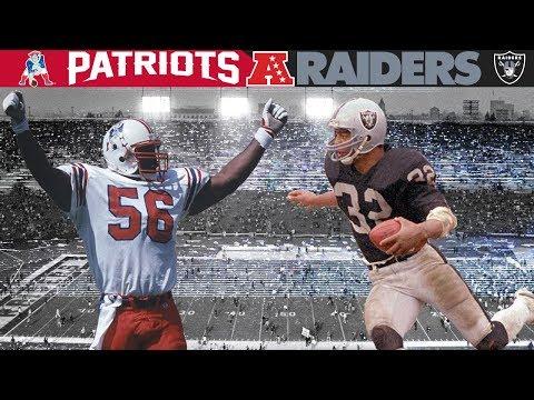 Boston Vs. Los Angeles: The World Series Of Football! (Patriots Vs. Raiders, 1985 AFC DIV)
