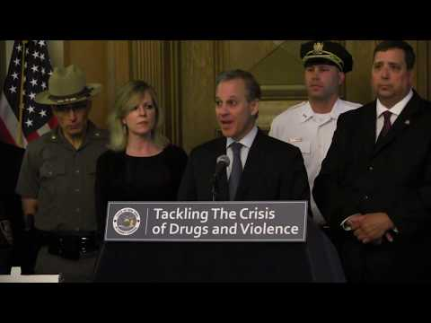 "A.G. Schneiderman Announces Takedown Of Major Narcotics Pipeline In ""Operation Wrecking Ball"""