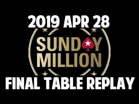 SUNDAY MILLION   2019 April 28
