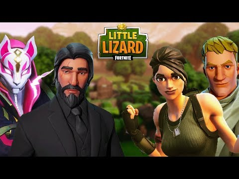 WICK AND DRIFT FALL FOR A TRAP! *SEASON 5* FORTNITE SHORT