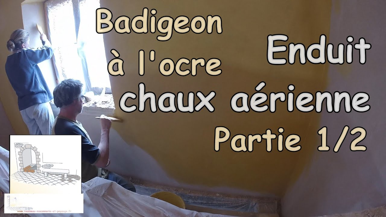 faire un badigeon la chaux partie 1 youtube. Black Bedroom Furniture Sets. Home Design Ideas