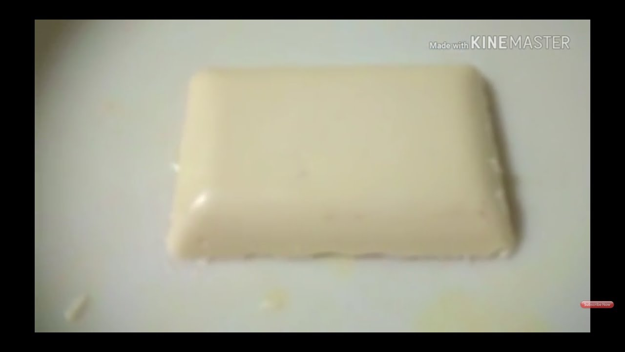 How to make white chocolate compound. Easy recipe - YouTube