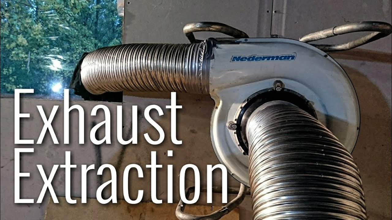 diy dyno exhaust extraction
