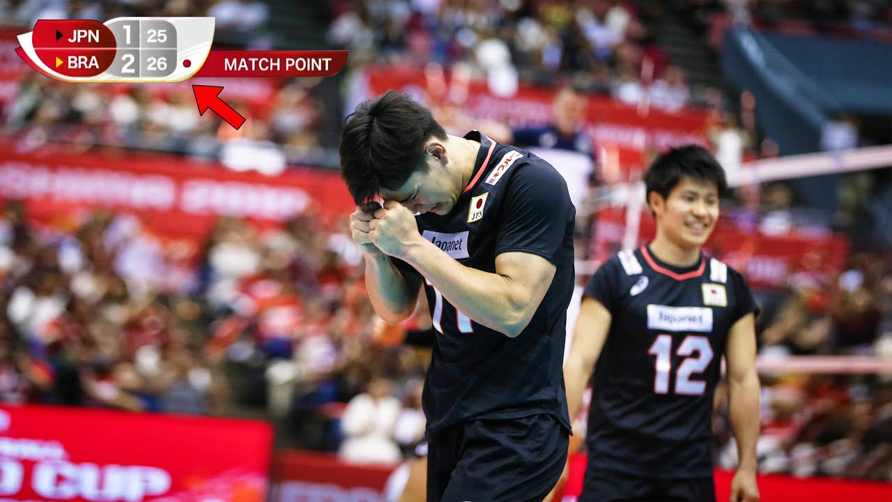 One of The Saddest Moments for Japan Volleyball Team (HD)