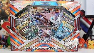 Opening A Pokemon Lycanroc GX Box!!