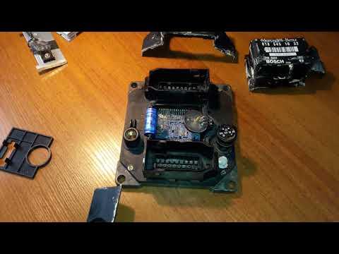 Диагностика и ремонт ЭБУ Mercedes PMS w124 w202 транзисторы и MAP сенсор