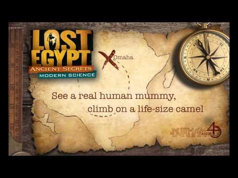 Lost Egypt: Ancient Secrets, Modern Science Exhibit