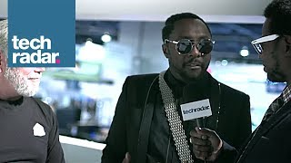Will.i.am Interview @ CES 2014 (3D Systems)