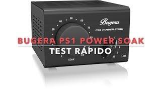 Bugera PS1 Power soak test