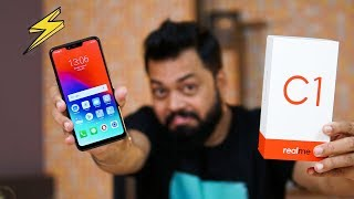 REALME C1 UNBOXING & FIRST IMPRESSIONS  ⚡⚡⚡ Notch, Dual Cameras, Big Battery & Display @ ₹6999
