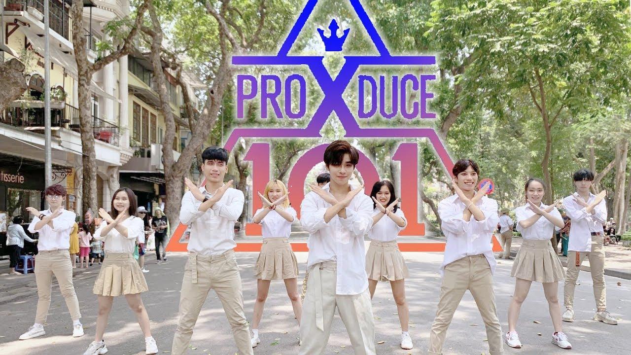 [KPOP IN PUBLIC] PRODUCE X 101(프로듀스 X 101) ′_지마(X1-MA)′ FT PRODUCE48 - NEKKOYA Dance Cover B-Wild VN