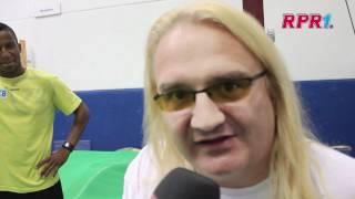 Der RPR1. Rocker trainiert für Olympia: Stabhochsprung