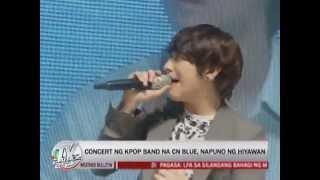 20130616_[TV Patrol]CNBLUE in Manila, Philippines(菲律賓馬尼拉)reports(報導)