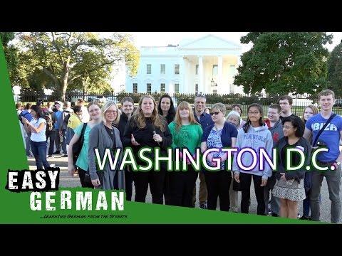 Talking to Germans in Washington D.C.   Easy German 166