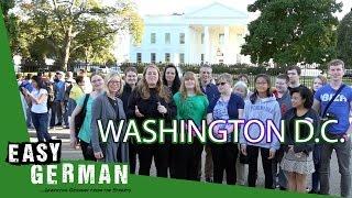 Talking to Germans in Washington D.C. | Easy German 166
