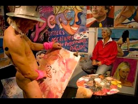 Pricasso Paints With A Very Unorthodox Brush
