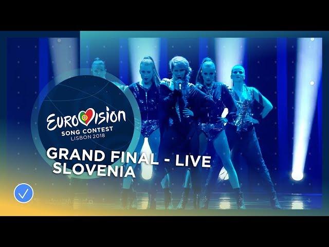 Lea Sirk - Hvala, ne!  - Slovenia - LIVE - Grand Final - Eurovision 2018