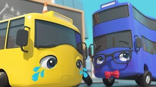 Buster's First Day At School | Little Baby Bum's GoBuster: Kids Cartoon | Baby Songs | ABCs and 123s