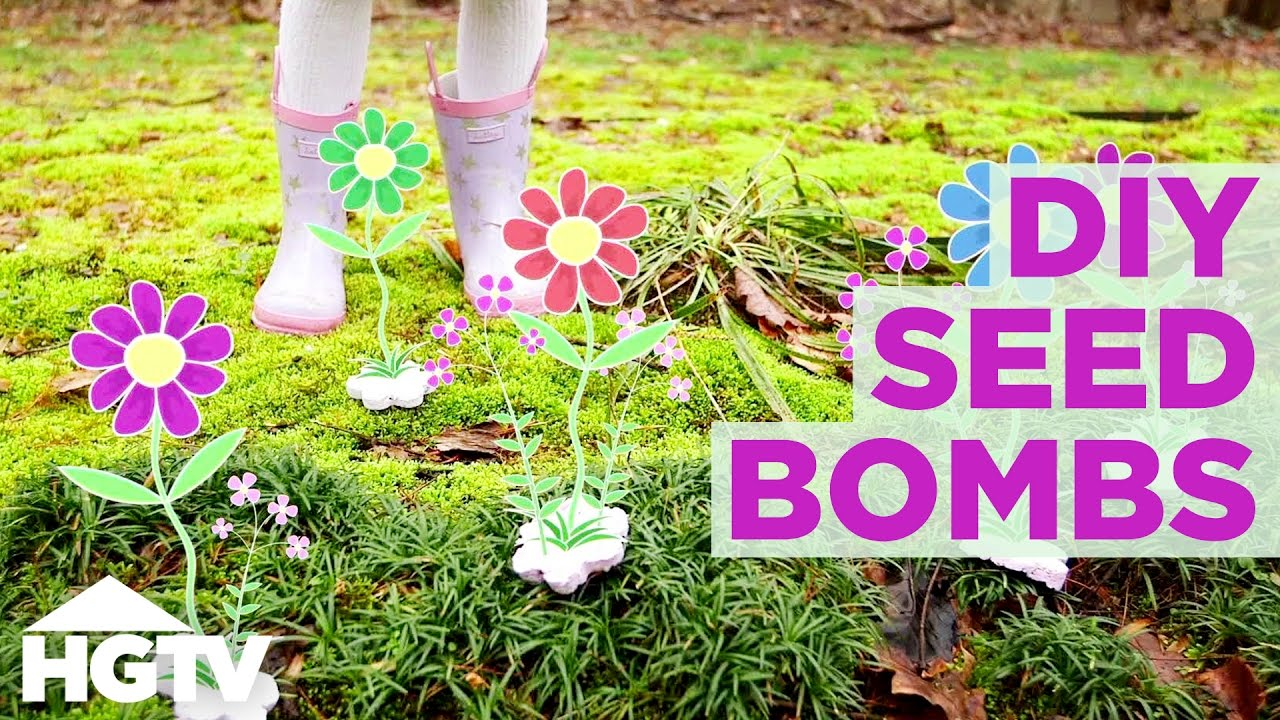 Diy Seed Bombs Easy Spring Craft Project Hgtv