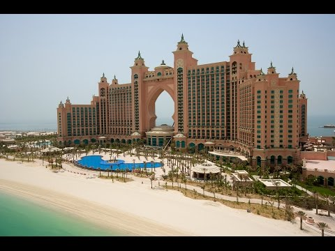 Dubai Atlantis: A tour of the luxury hotel suite that will cost you £23,000 per night - before tax