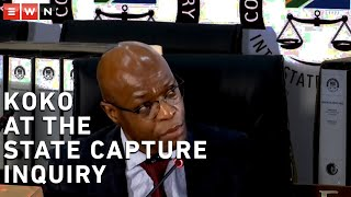 Former Eskom CEO Matshela Koko said that he was flabbergasted and angry now that he knew he unwittingly sent Eskom information to external parties via the email address infoportal, which belonged to Gupta-linked businessman Salim Essa. Koko said that when he was sending emails to that address, he did not know it was to someone outside the power utility.