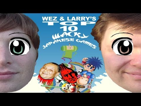 Top 10 Wacky Japanese Games - Wez and Larry&39;s Top Tens Part Two