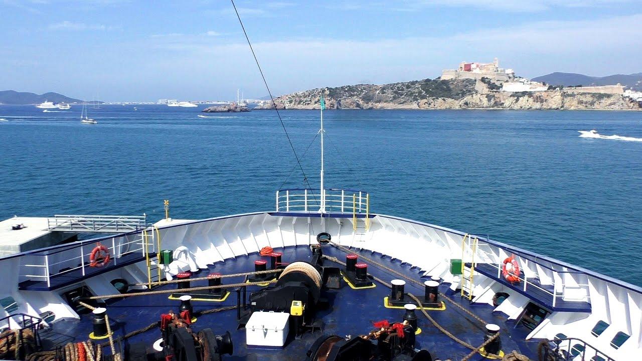 Ibiza Barcelona Con Baleària Ferry Nápoles Navegar