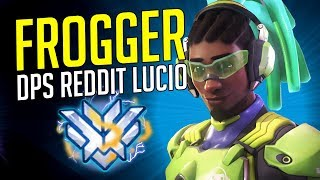"""FROGGER"" THE DPS REDDIT LUCIO - Best of Frogger Lucio 