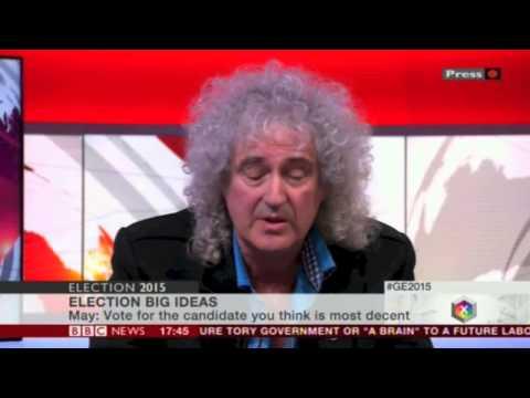 Brian May Big Ideas 15 April 2015