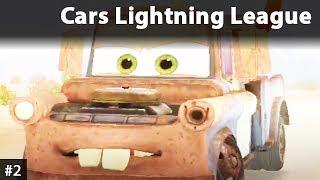 Cars Lightning League Po Polsku | Auta 3 talet - Złomek
