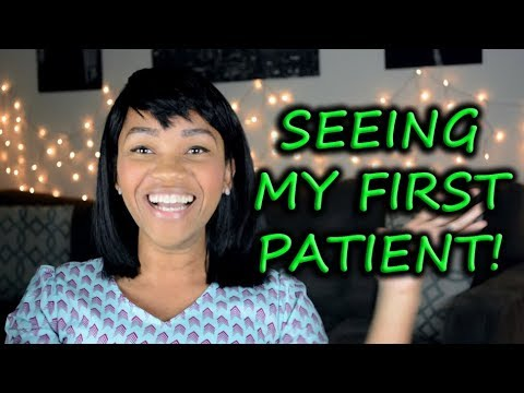 Seeing My First Patient in only my 2nd Semester of PA School!    Diary of a PA Student