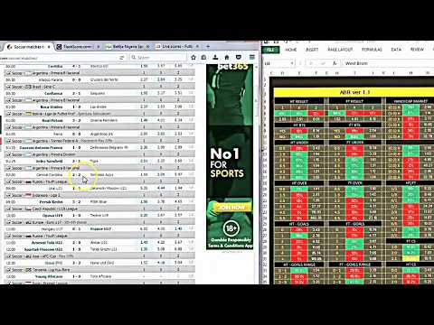 Soccer Prediction Software - YouTube