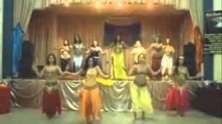Dança do Ventre com Hadjza Kalif e Grupo Sahira - A